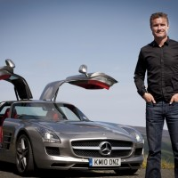 David Coulthard & Mercedes SLS AMG