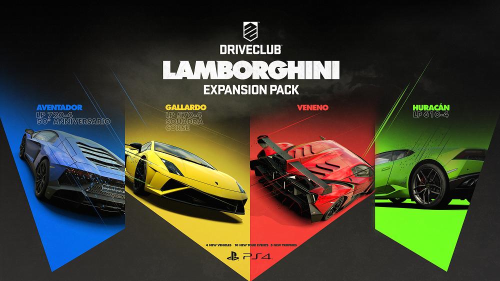 Driveclub lamborghini expansion