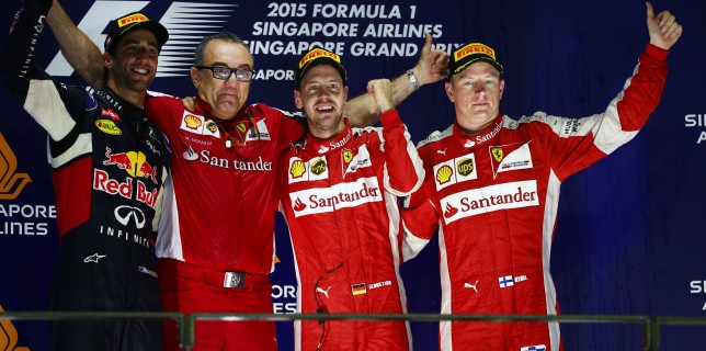 Formula One World Championship 2015, Round 13, Singapore Grand Prix