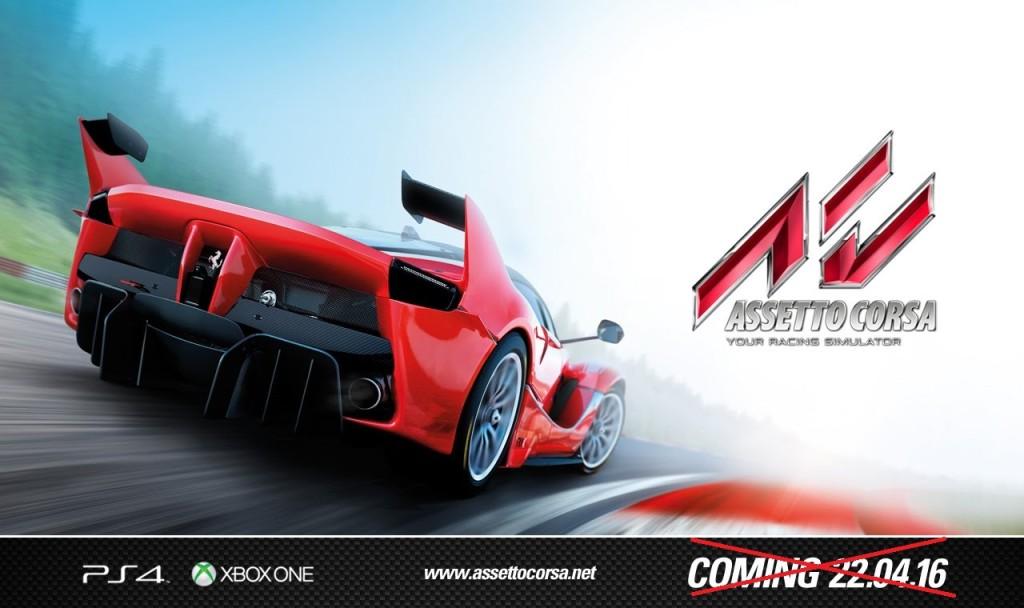 Assetto Corsa console header PS4 Xbox One