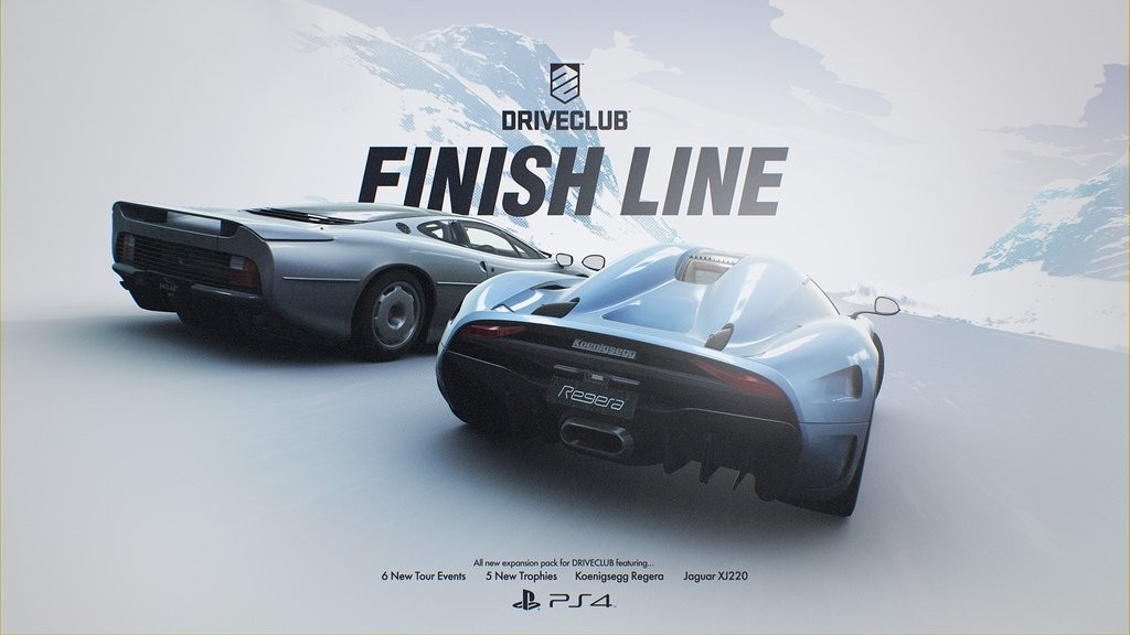 Driveclub finish line
