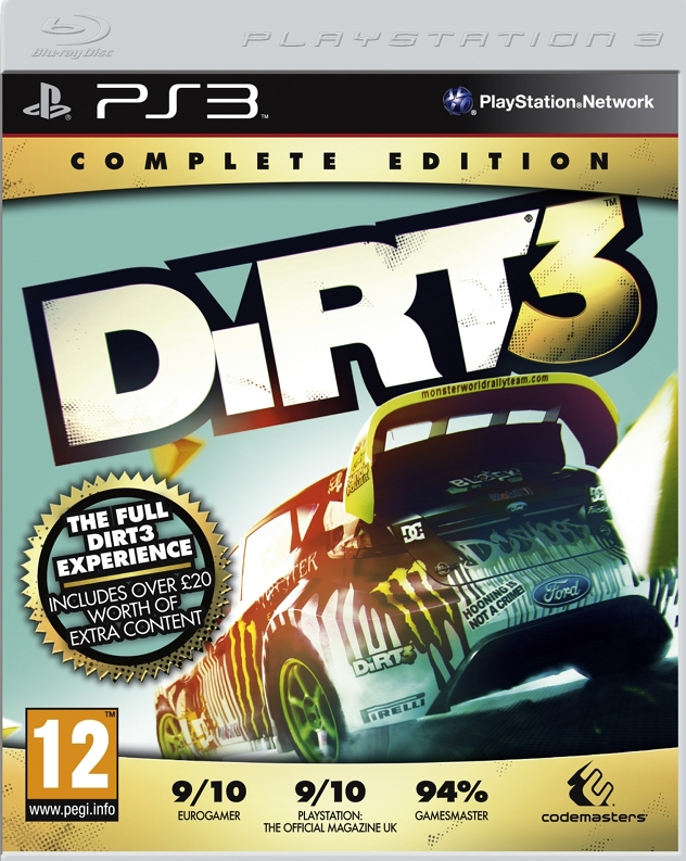 DiRT 3 Complete Edition cover