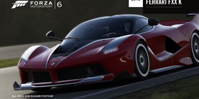 Forza 6 Top Gear Car Pack Ferrari FXX K